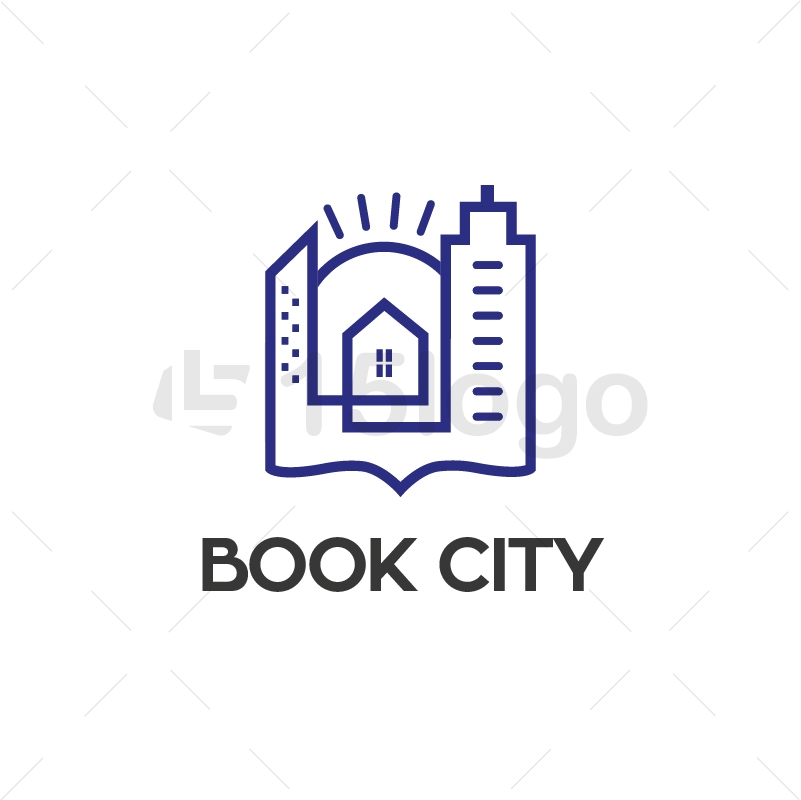 Book City Logo Template