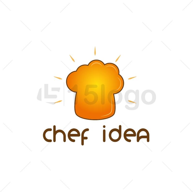 Chef Idea Creative Logo
