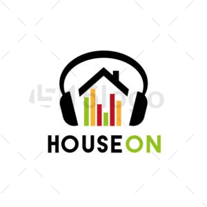 house on online logo design