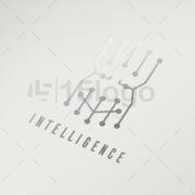 intelligence shop logo template