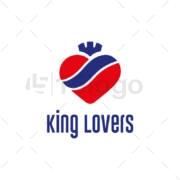 king love online logo design
