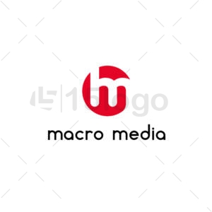 macro media online logo design
