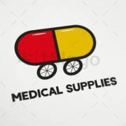 medical supplies online logo template