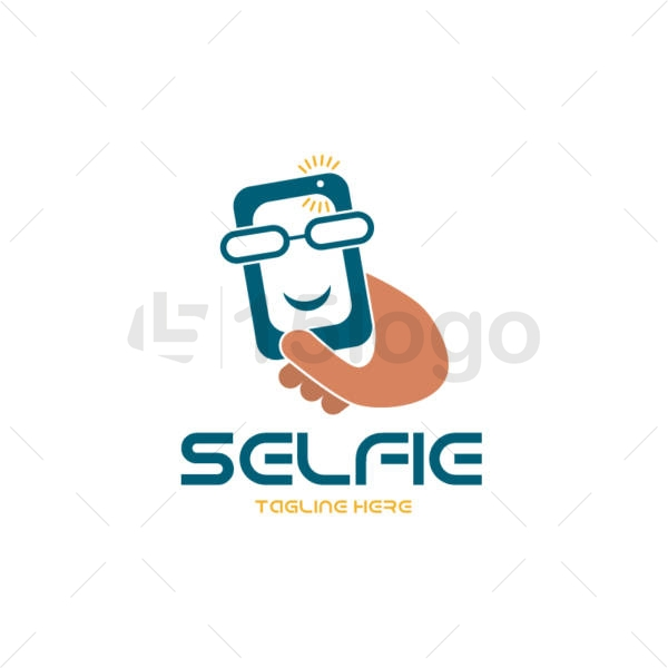 selfie logo design