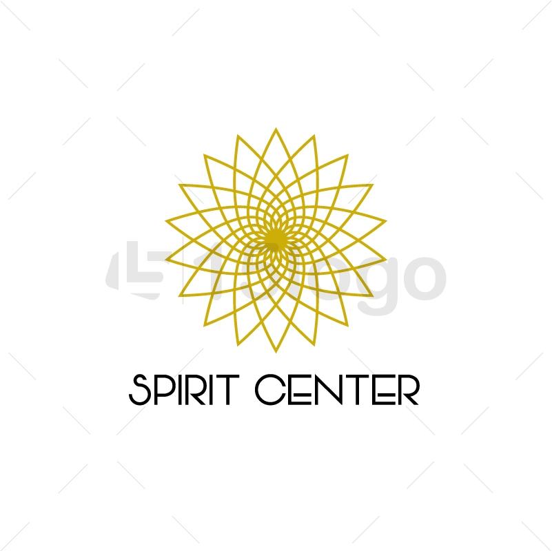 Spirit Center Logo Template