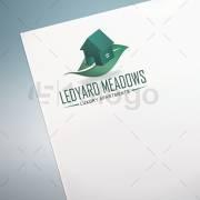 Ledyard Meadows Logo Design
