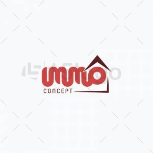 Immo Concept logo design