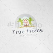True Home logo design