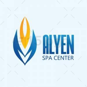 Alyen logo template