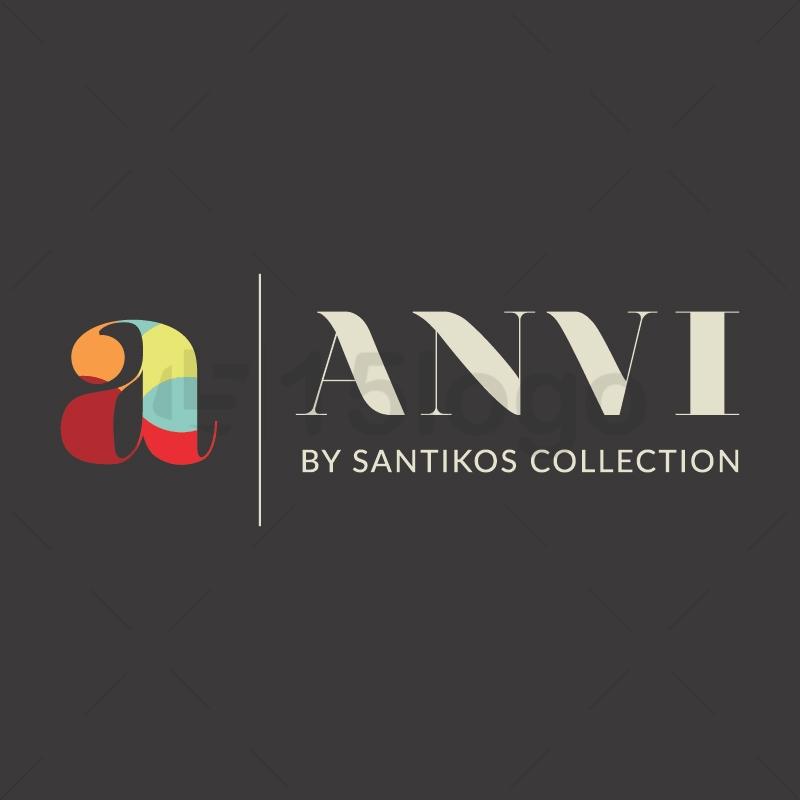 Anvi logo design