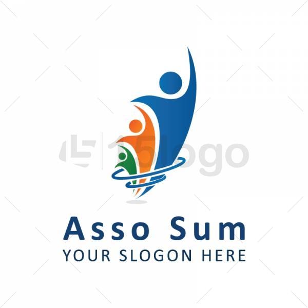 Asso Sum logo template