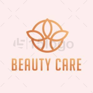Beauty care logo design
