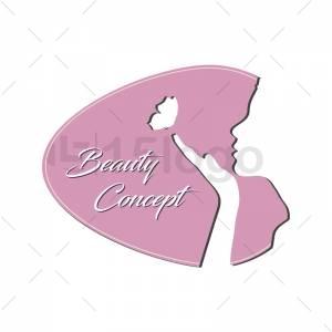 Beauty concept logo template