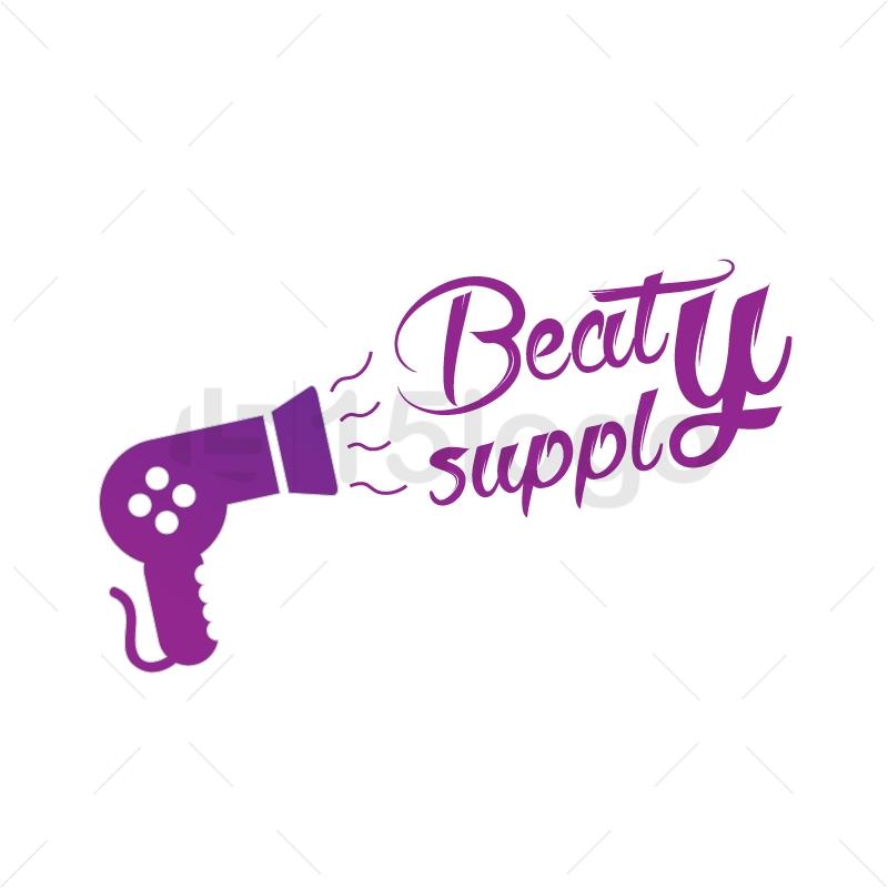 Beauty supply logo design