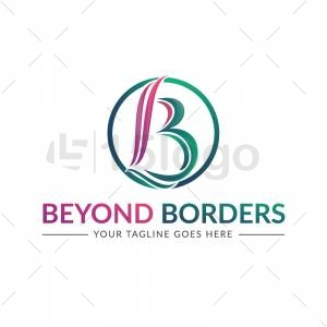 Beyond Borders logo template