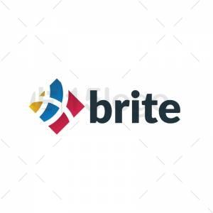 Brite logo design