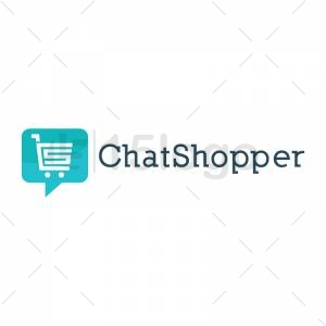 ChatShopper logo template
