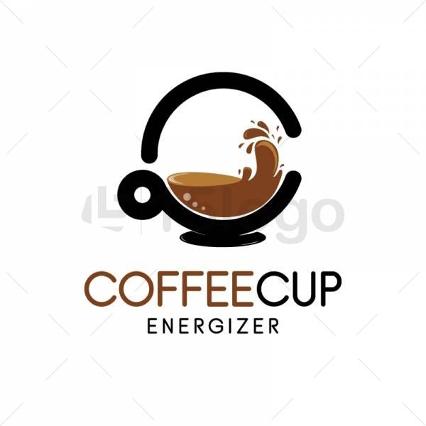 Coffee cup logo design