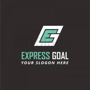 Express Goal logo template