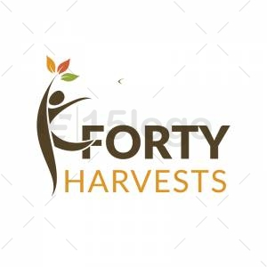 Forty Harvests logo