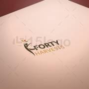 Forty Harvests logo