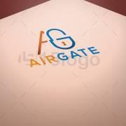 Airgate logo template
