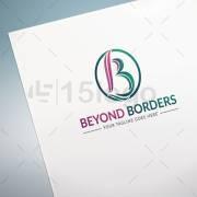 Beyond Borders logo template