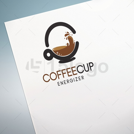 coffee cup logo design 15 logo