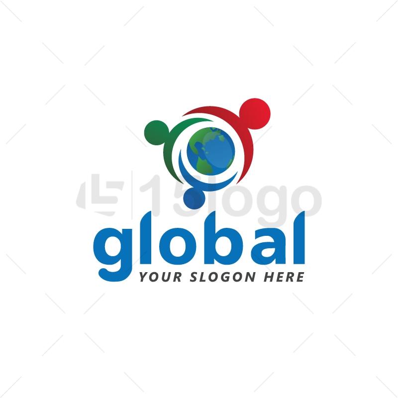 Global logo design