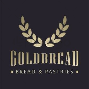 Goldbread logo template