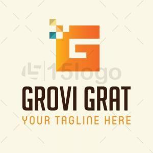 Grovi grat logo template