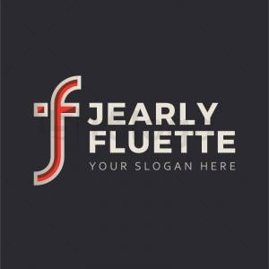 Jearly Fluette logo template