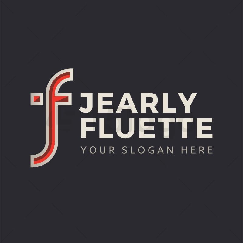 Jearly Fluette logo template