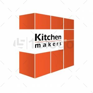 Kitchen makers logo template