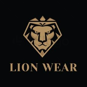 Lion wear logo template