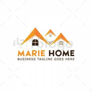 Marie Home logo design