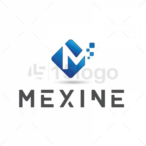 Mexine logo design