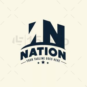 Nation logo template