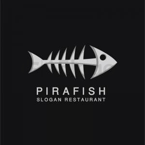 Pirafish logo template