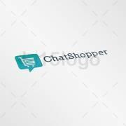 ChatShopper logo template