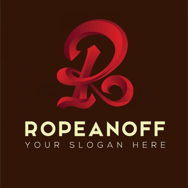 Ropeanoff logo design