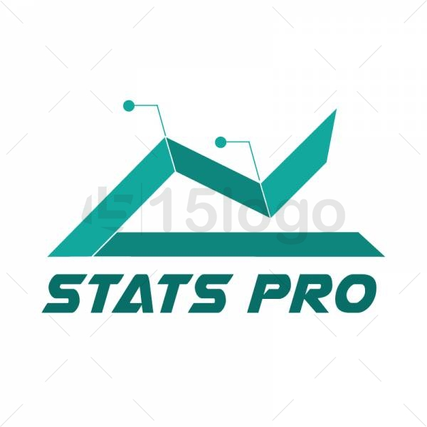 Stats pro logo template