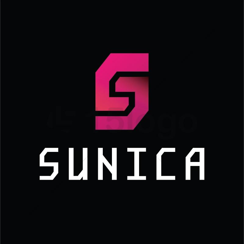 Sunica logo template