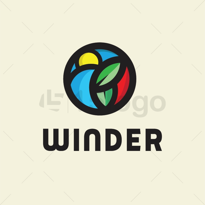 Winder logo template