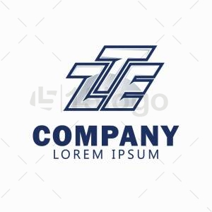 ZTE logo template