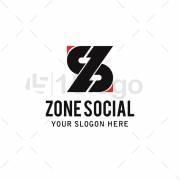 Zone Social logo template