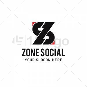 Zone Social logo template