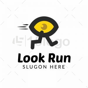 Look run logo