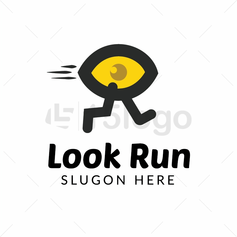 Look run logo