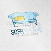 Sofa Relaxe logo template